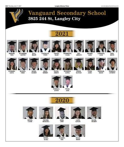 Vanguard Secondary School Grad 2021