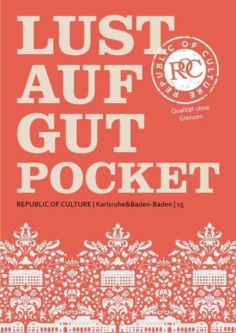 LUST AUF GUT Pocket | Karlsruhe & Baden-Baden 2021