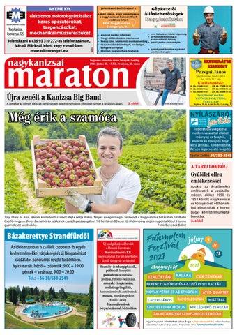 Nagykanizsai Maraton - 2021. 06. 25.