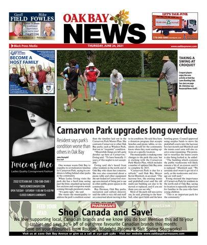 Oak Bay News, June 24, 2021