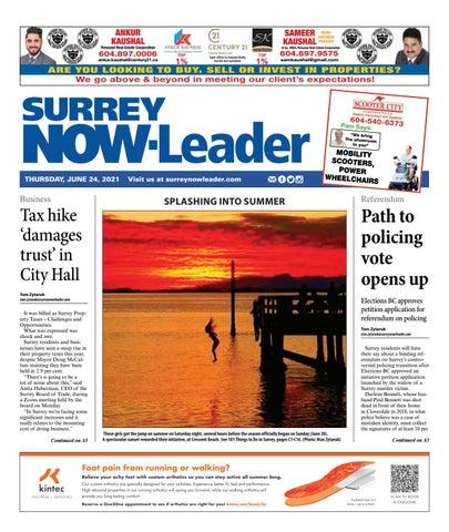 Surrey Now Leader, June 24, 2021