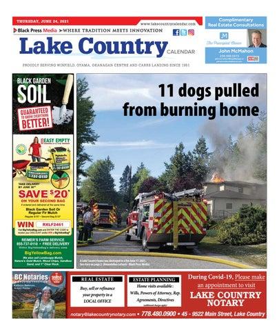 Lake Country Calendar, June 24, 2021