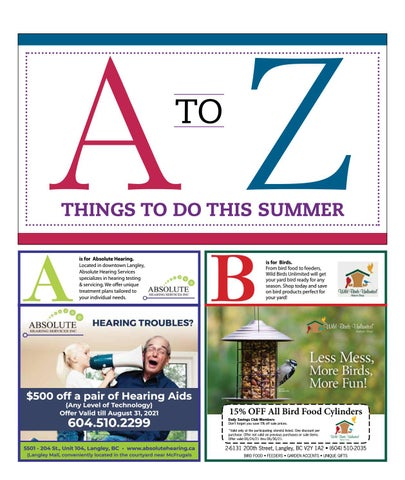 A TO Z Things To Do This Summer 2021