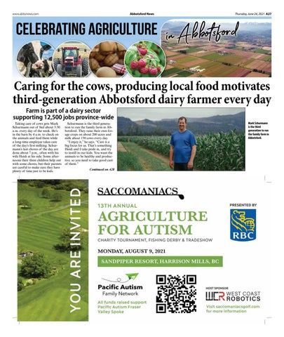 Celebrating Agriculture in Abbotsford June 2021