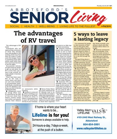 Senior Living June 2021