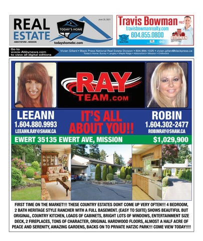 June 25, 2021 Real Estate Weekly - Abbotsford