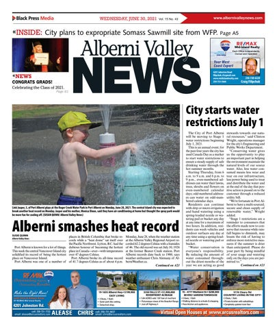 Alberni Valley News, June 30, 2021