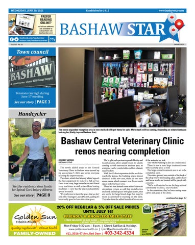 Bashaw Star, June 30, 2021