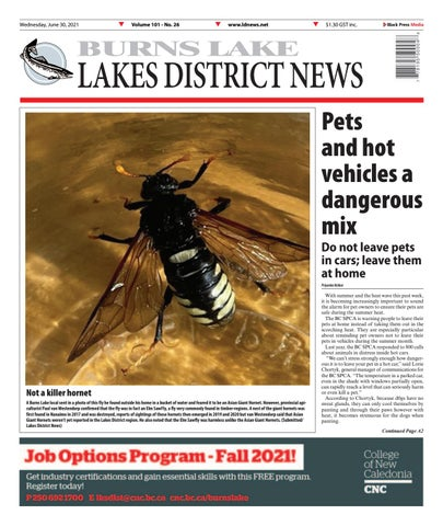 Burns Lake Lakes District News, June 30, 2021