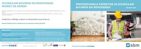 SBM Duurzaam bouwen najaar 2021
