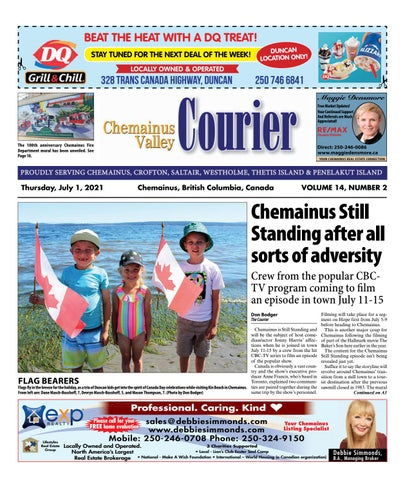 Chemainus Valley Courier, July 1, 2021