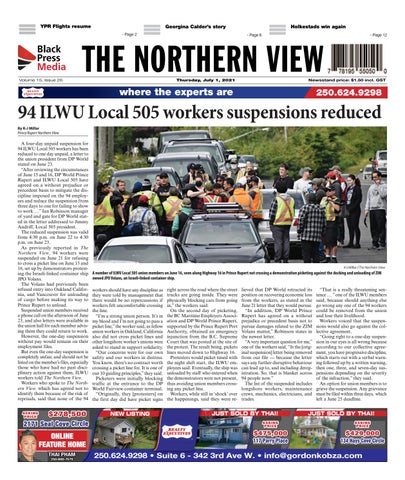 The Northern View/Northern Connector, July 1, 2021