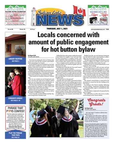 Sylvan Lake News, July 1, 2021