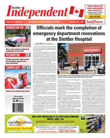 Stettler Independent, July 1, 2021