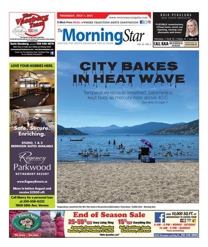 Vernon Morning Star, July 1, 2021