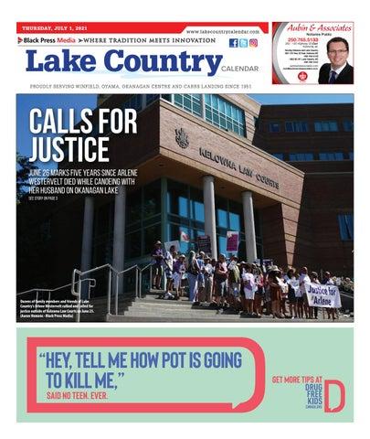 Lake Country Calendar, July 1, 2021