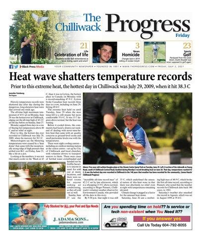 Chilliwack Progress, July 2, 2021