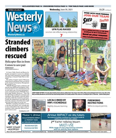 Tofino-Ucluelet Westerly News, June 30, 2021