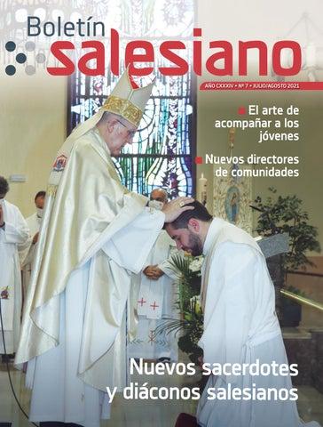 Boletín Salesiano, julio-agosto 2021