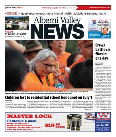 Alberni Valley News, July 7, 2021