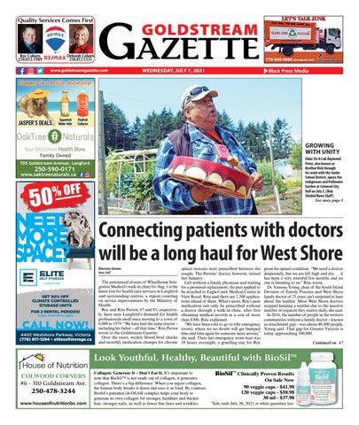Goldstream News Gazette, July 7, 2021