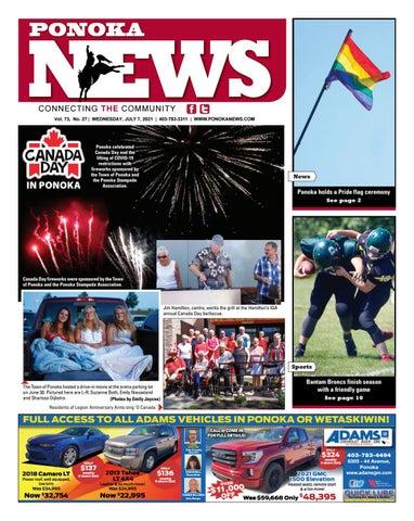 Ponoka News, July 7, 2021