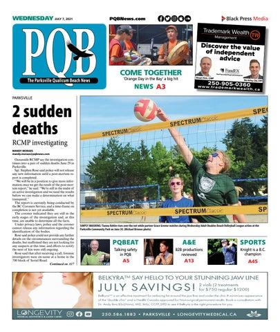 Parksville Qualicum Beach News, July 7, 2021