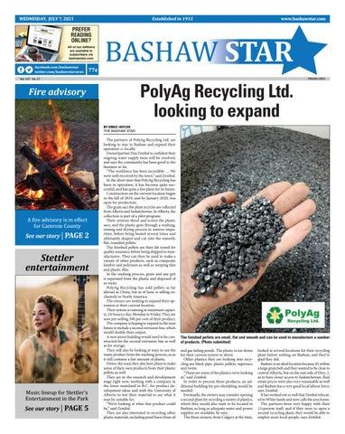 Bashaw Star, July 7, 2021