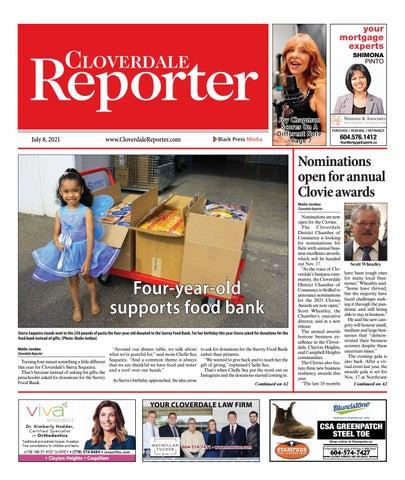 Cloverdale Reporter, July 8, 2021