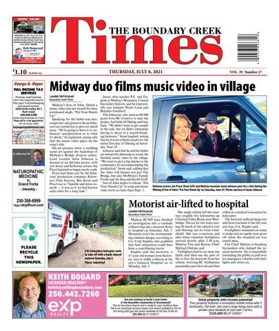 Boundary Creek Times, July 8, 2021
