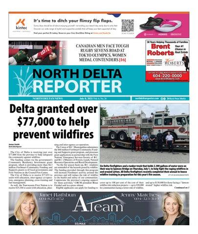 North Delta Reporter, July 8, 2021
