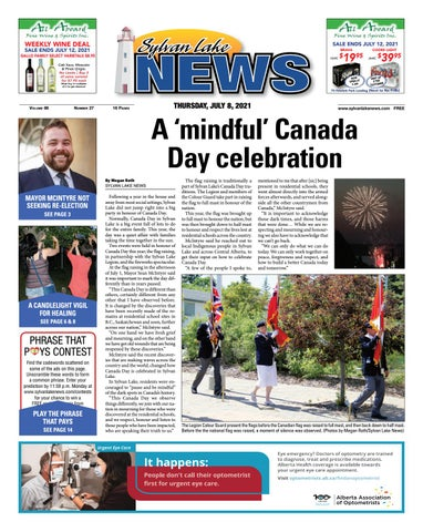 Sylvan Lake News, July 8, 2021