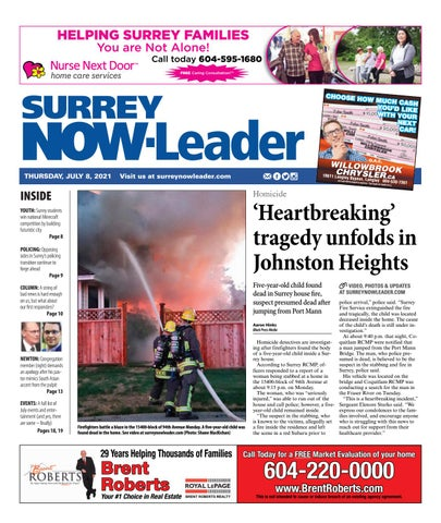 Surrey Now Leader, July 8, 2021