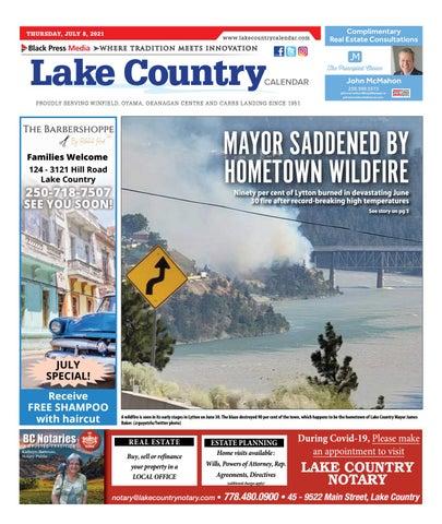 Lake Country Calendar, July 8, 2021
