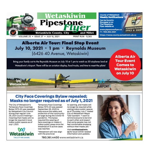 July 08, 2021 Pipestone Flyer
