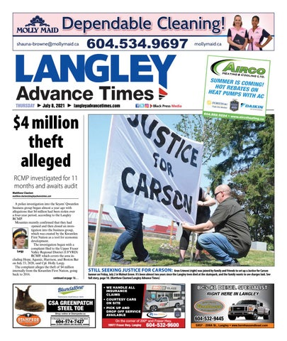 Langley Times, July 8, 2021