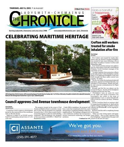 Ladysmith Chronicle, July 8, 2021