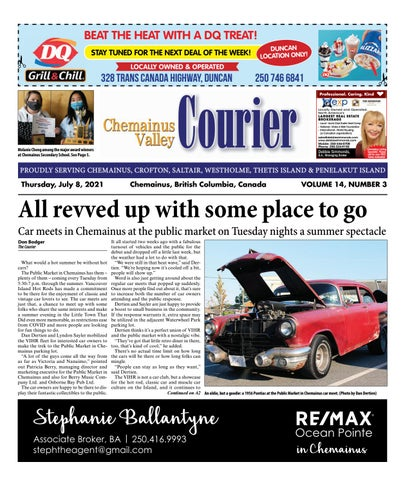 Chemainus Valley Courier, July 8, 2021
