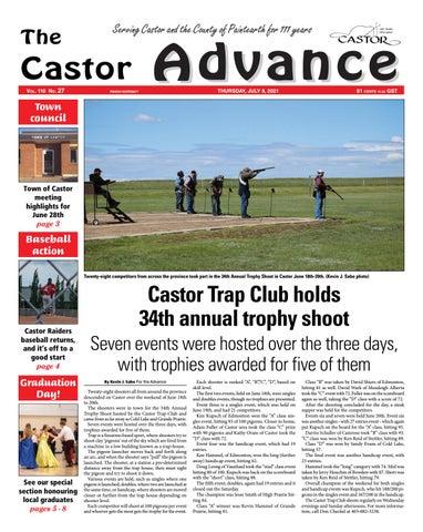 Castor Advance, July 8, 2021