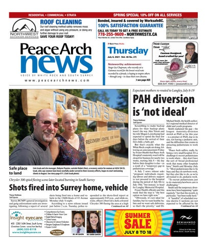 Peace Arch News, July 8, 2021