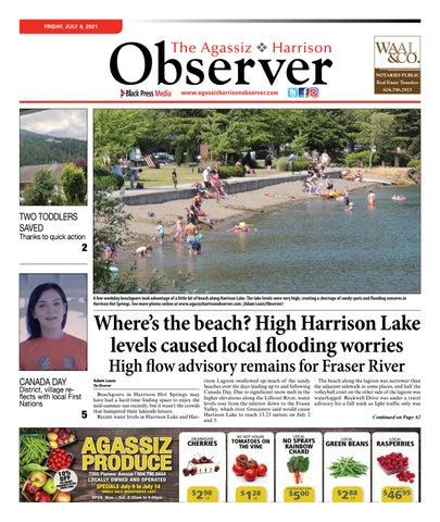 Agassiz Observer, July 9, 2021