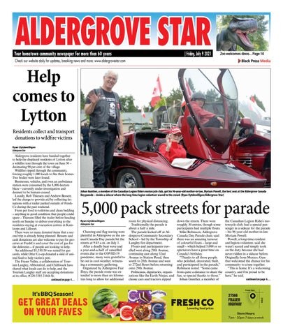 Aldergrove Star, July 9, 2021