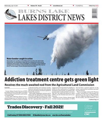 Burns Lake Lakes District News, July 14, 2021