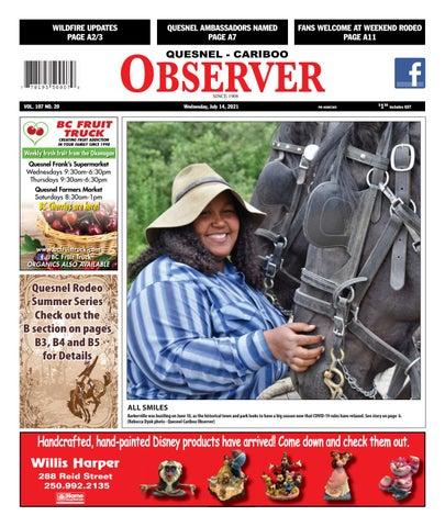 Quesnel Cariboo Observer, July 14, 2021