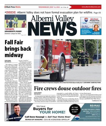 Alberni Valley News, July 14, 2021