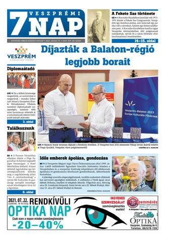 Veszprémi 7 Nap - 2021. 07. 15.