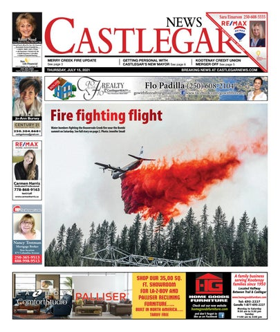 Castlegar News/West Kootenay Advertiser, July 15, 2021