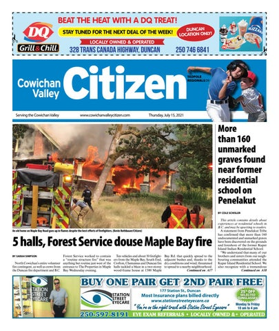 Cowichan Valley Citizen, July 15, 2021