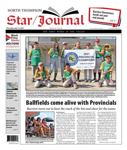Barriere Star Journal, July 15, 2021