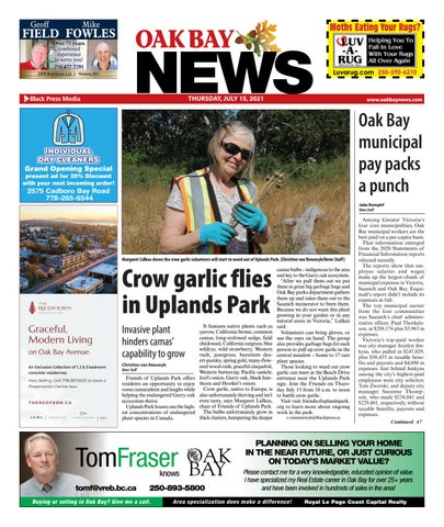 Oak Bay News, July 15, 2021